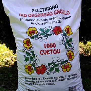 Ekološko gnojilo – peletirano